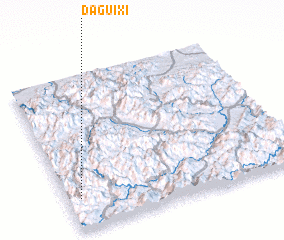3d view of Daguixi