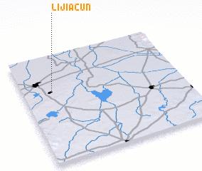 3d view of Lijiacun