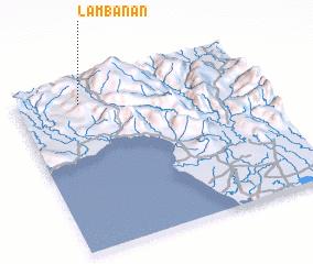 3d view of Lambanan