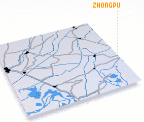 3d view of Zhongpu