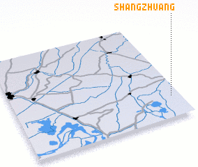 3d view of Shangzhuang