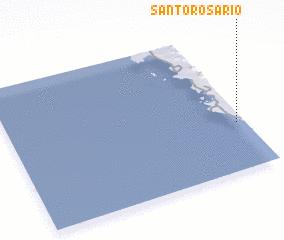 3d view of Santo Rosario
