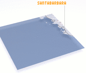 3d view of Santa Barbara