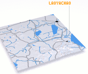 3d view of Laoyachao