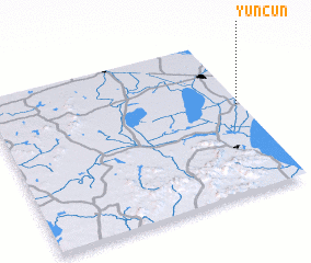 3d view of Yuncun