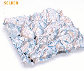 3d view of Sölden