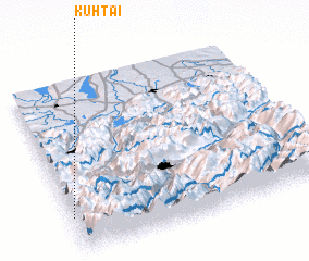 3d view of Kühtai
