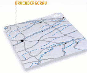 3d view of Bruckbergerau