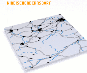 3d view of Windischenbernsdorf