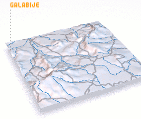 3d view of Galabije