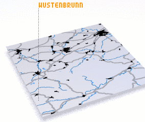 3d view of Wüstenbrunn