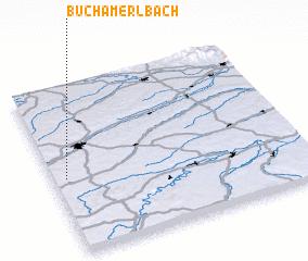 3d view of Buch am Erlbach