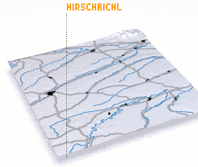 3d view of Hirschbichl
