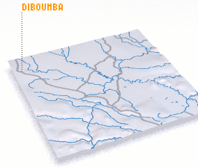 3d view of Diboumba