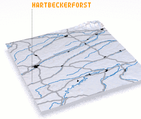 3d view of Hartbeckerforst