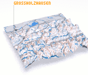 3d view of Großholzhausen