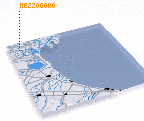 3d view of Mezzogoro