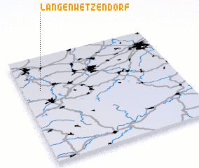 3d view of Langenwetzendorf