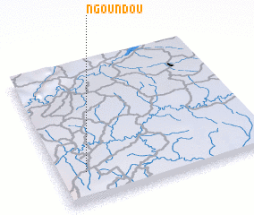 3d view of Ngoundou