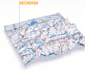 3d view of Rechenau