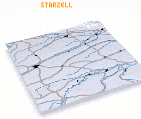 3d view of Starzell