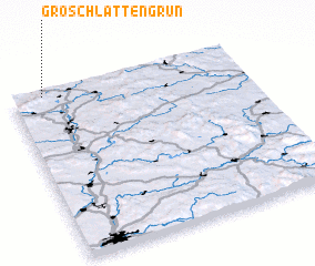 3d view of Groschlattengrün