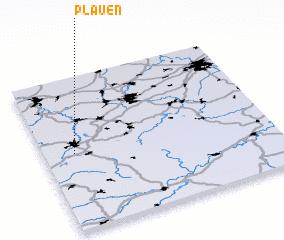 3d view of Plauen