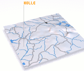 3d view of Holle