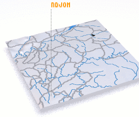 3d view of Ndjom