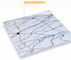 3d view of Hausmehring