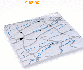 3d view of Sinzing