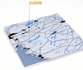 3d view of Kjevik