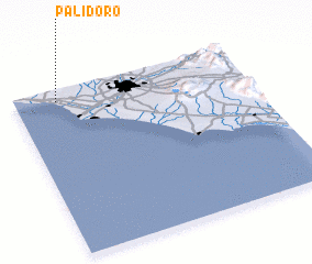 3d view of Palidoro