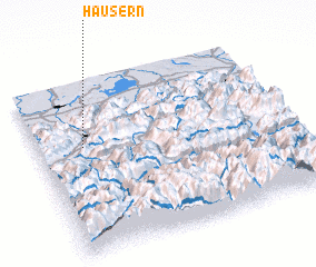 3d view of Häusern