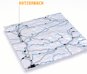3d view of Kotzenbach