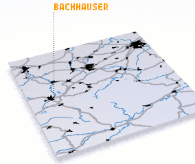 3d view of Bachhäuser