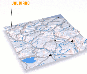 3d view of Valbiano