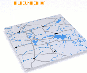 3d view of Wilhelminenhof