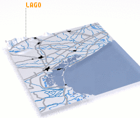 3d view of Lago