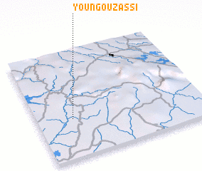 3d view of Youngou-Zassi