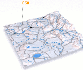 3d view of Osa