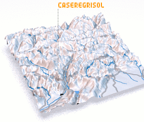 3d view of Casere Grisol