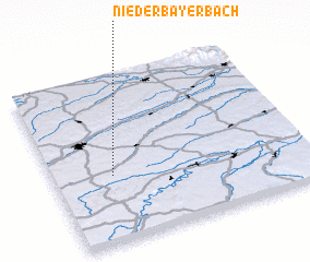 3d view of Niederbayerbach