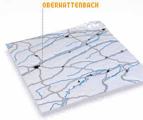 3d view of Oberwattenbach
