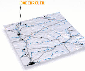 3d view of Bodenreuth