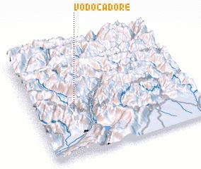 3d view of Vodo Cadore