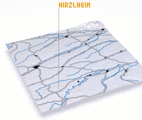 3d view of Hirzlheim
