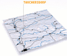 3d view of Tauchersdorf