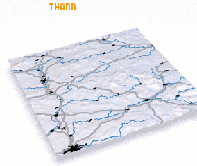 3d view of Thann