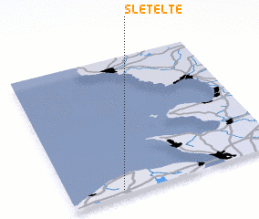 3d view of Sletelte